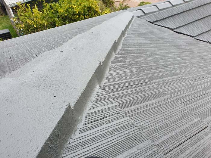 concrete tiled roof restoration