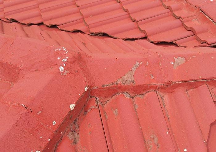 roof coating image damage