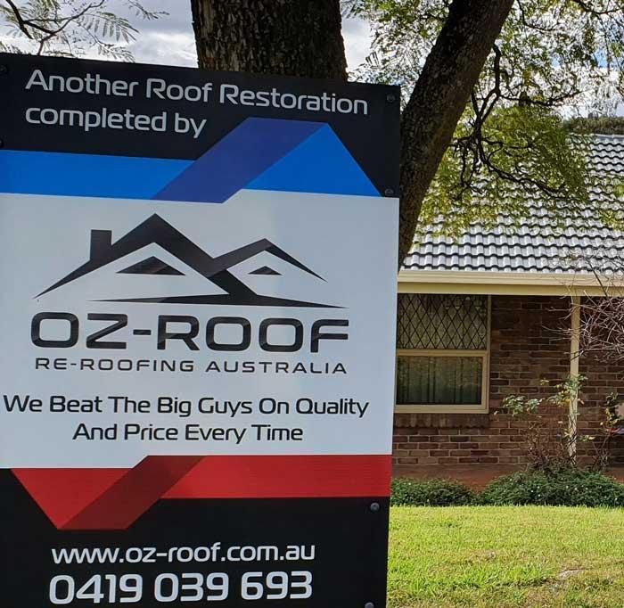 Oz Roof Roof Restoration 15 Year Warranty